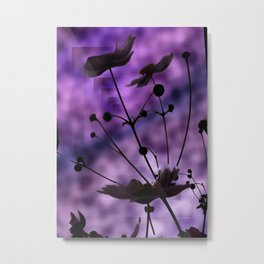 purple shadow Metal Print