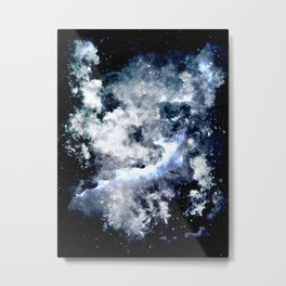 Frozen Galaxy Metal Print