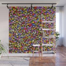 Flower meadow Wall Mural