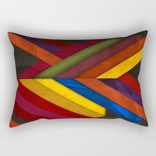 Abstract #279 Rectangular Pillow