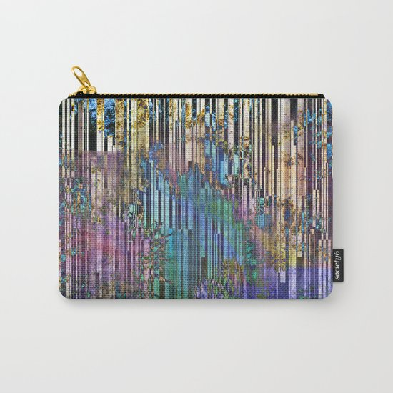 tree barcode stripes Carry-All Pouch