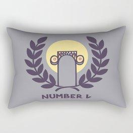 Number One Rectangular Pillow