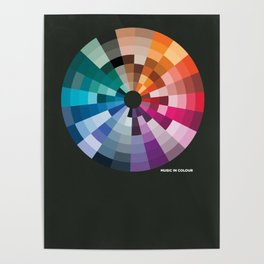 Music In Colour Poster