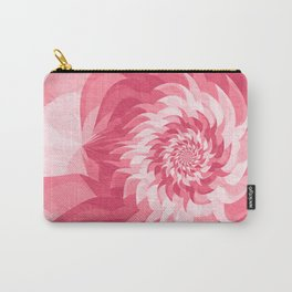 Pink fractal flower Carry-All Pouch