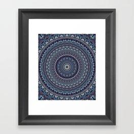 Native Soul Mandala 5 Framed Art Print