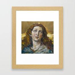 Assumptio Beatae Mariae Virginis Framed Art Print