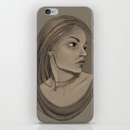 Framed Portrait iPhone Skin