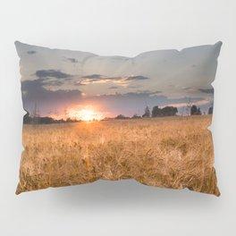 Sunset in grainfield Pillow Sham