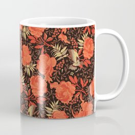 Art nouveau florals Coffee Mug