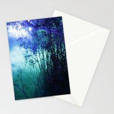 night lake Stationery Cards