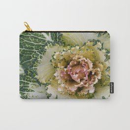 Curly to the Core - Winter Cabbage Carry-All Pouch