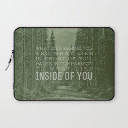 Inside of You Laptop Sleeve