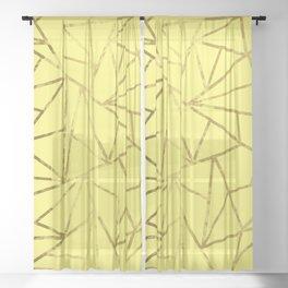 Sunshine Geometric Sheer Curtain