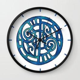 Blue Design 23 Wall Clock