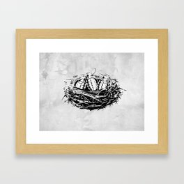 Grenade Nest Framed Art Print