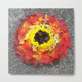 Goldsworthy in the Fall Metal Print