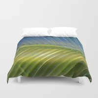 lip Duvet Covers featuring Lip Palm by Scott Aichner
