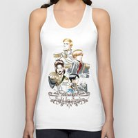 attack on titan Tank Tops featuring OriSor Shingeki No Kyojin Royal Fanart  Attack on Titan by Mistiqarts by Mistiqarts