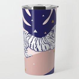 Tiger and the Sun II. Travel Mug