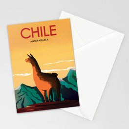 Antofagasta Chile | Vintage Travel Poster | Enhanced Matte Paper perfect for your wall ! Stationery Cards
