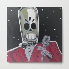 The Entertainer Metal Print