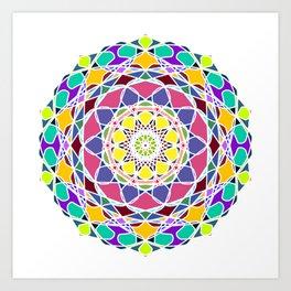 Universum Style Mandala Art Print