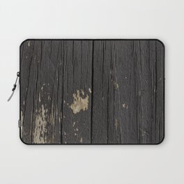 Black Wood Laptop Sleeve