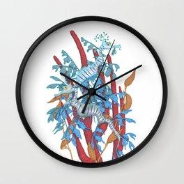 Sea Dragons Wall Clock