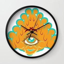 All Seeing Eye Gal Wall Clock