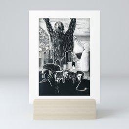 Humanity Rising Mini Art Print