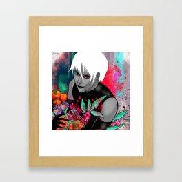 Kaneki Framed Art Print