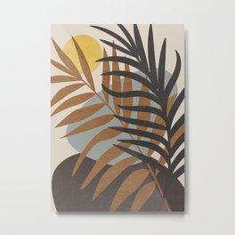 Abstract Tropical Art IV Metal Print
