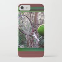 tennis iPhone & iPod Cases featuring tennis by ashouryourartandphotos