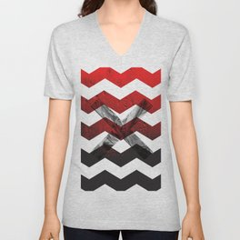 PATTERNS - MODERN - ABSTRACT - ILLUSTRATION Unisex V-Neck