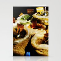 spice Stationery Cards featuring Spice by Madison Webb
