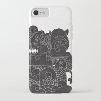 monsters iPhone & iPod Cases featuring MONSTERS by Matthew Taylor Wilson