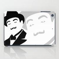 hercules iPad Cases featuring Hercules Poirot by b & c