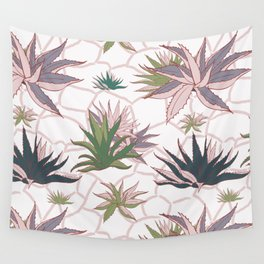 Agave Flower Wall Tapestry