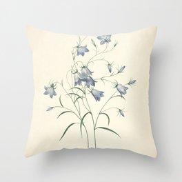 Vintage Illustration Medicinal Plant No 7 Throw Pillow