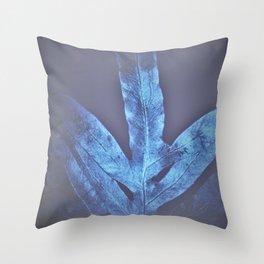 Cold Winter 2021 Fern Throw Pillow