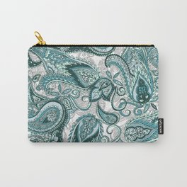 Jaded Paisley  Carry-All Pouch