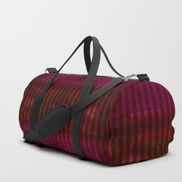 Patterns II Red Duffle Bag