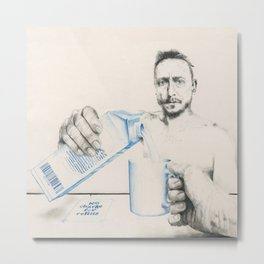 Free refills Metal Print