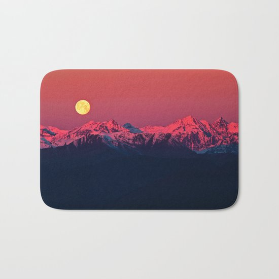 In The End #society6 #prints Bath Mat