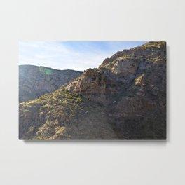 Mount Lemmon Metal Print