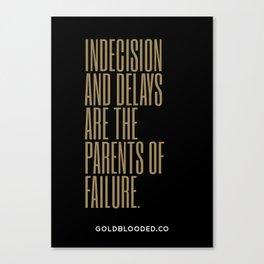Indecision Canvas Print