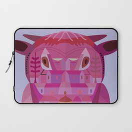 A Cow in Los Angeles Laptop Sleeve