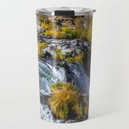 Steelhead Falls Oregon Autumn, Canvas Prints, Home Decor, Home Decorators Collection, David Millenhe Travel Mug
