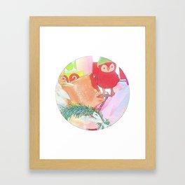 """""""Red Robin"""" Framed Art Print"""