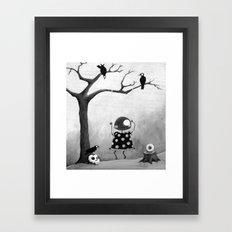 Little Lulu- Swing Time Framed Art Print